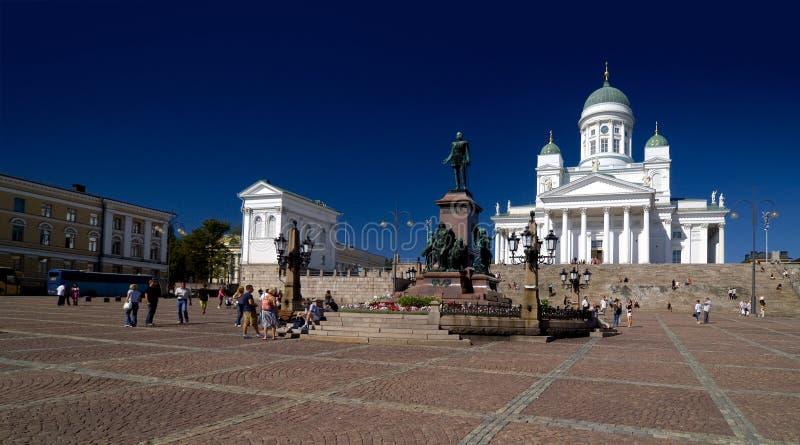 Suurkirkko, cattedrale del Lutheran di San Nicola fotografia stock libera da diritti