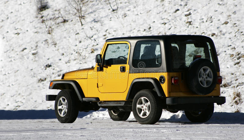 Download SUV stock image. Image of outdoors, nature, black, winter - 20051751