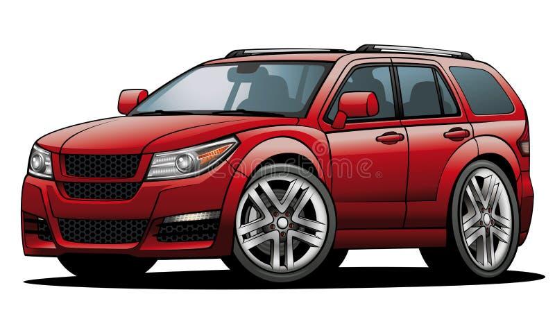 SUV 03 ilustração stock