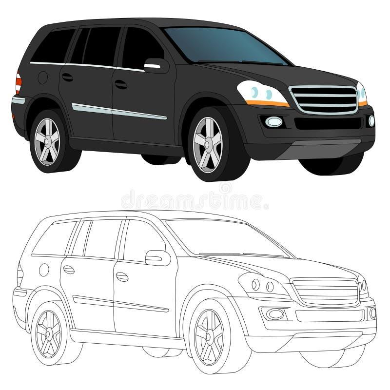 SUV image stock