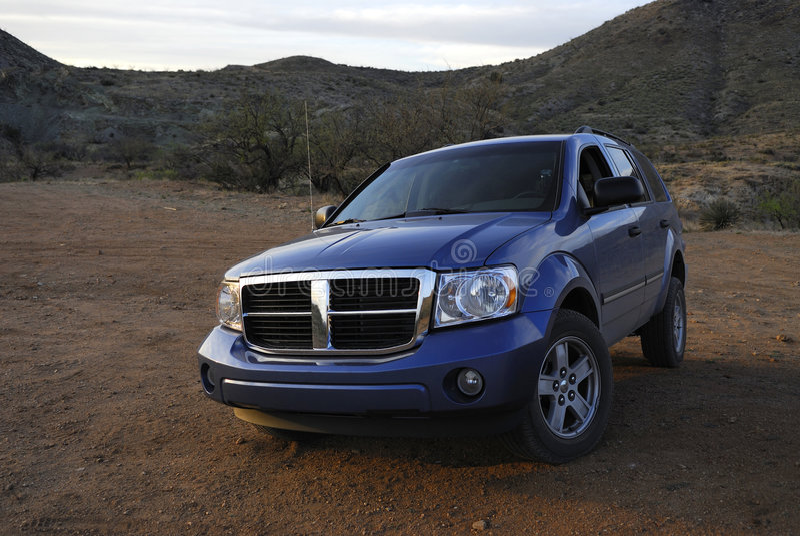 SUV americano off-road imagem de stock royalty free