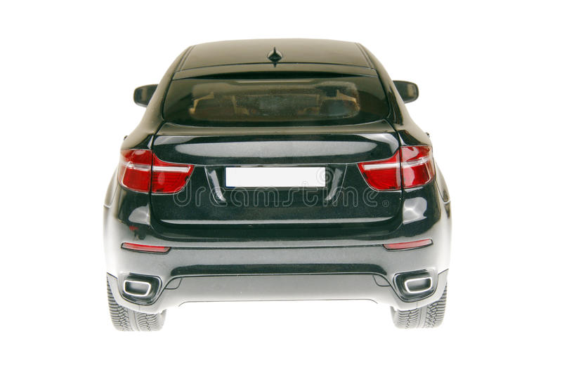 SUV Car Back View Stock Images
