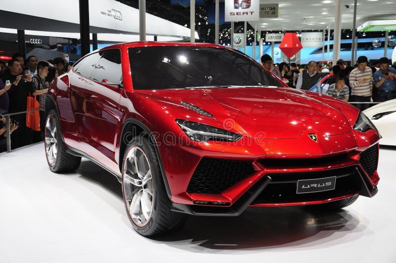 Suv de Lamborghini images libres de droits