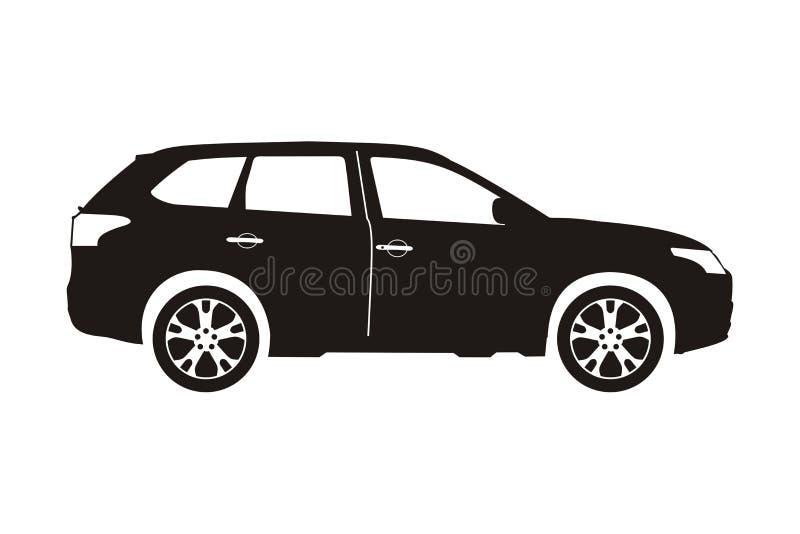 Suv del coche del icono libre illustration