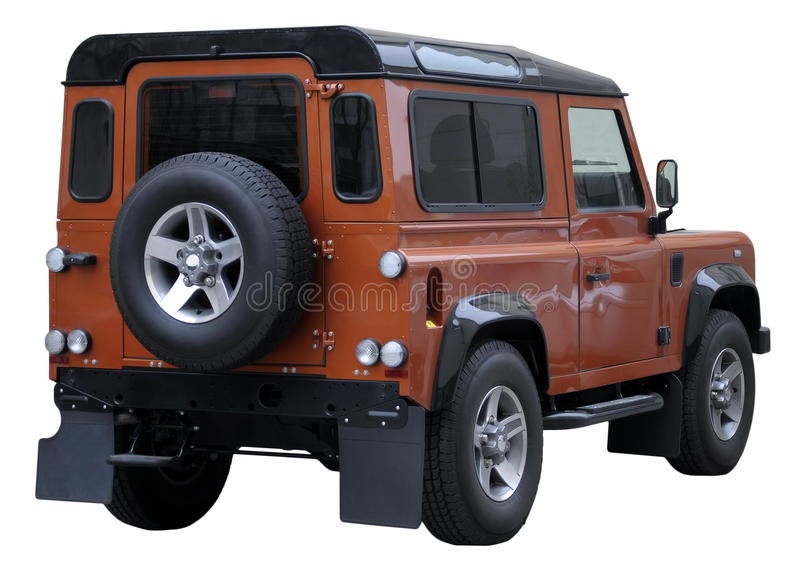 Download SUV isolated stock image. Image of muscle, defender, automatic - 18787459