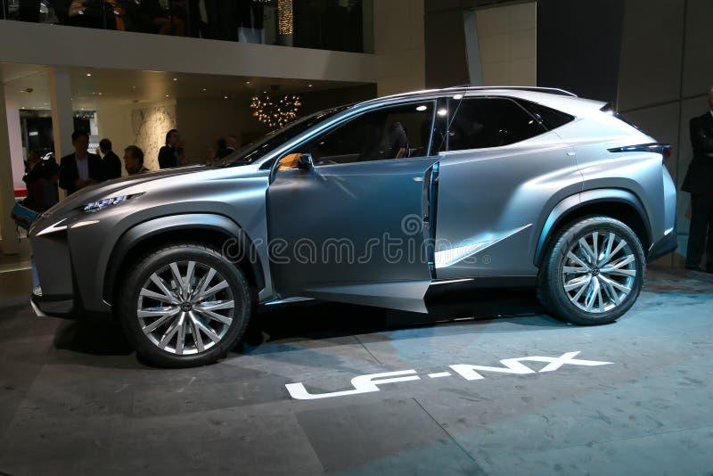 Download SUV Lexus LF-NX concept editorial stock photo. Image of nx - 33585808