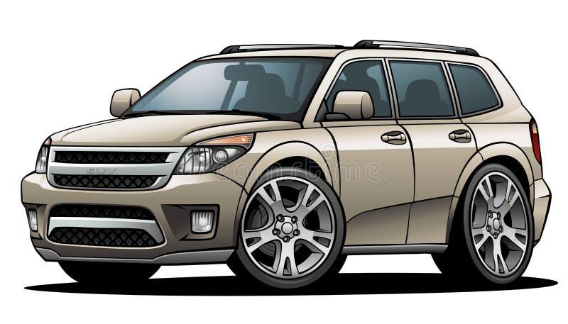 SUV 01 vector illustration
