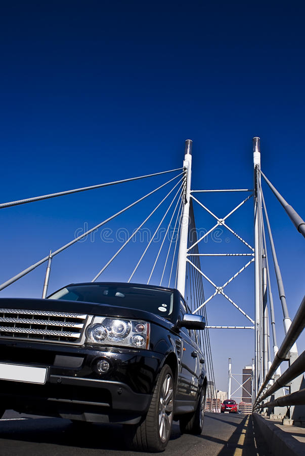 Free SUV On Nelson Mandela Bridge Stock Photos - 10466243