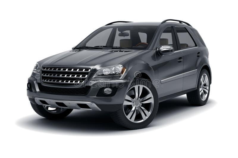 SUV preto imagens de stock royalty free