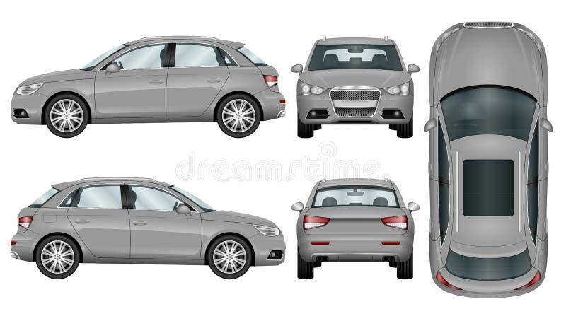 Suv samochodu szablon ilustracji