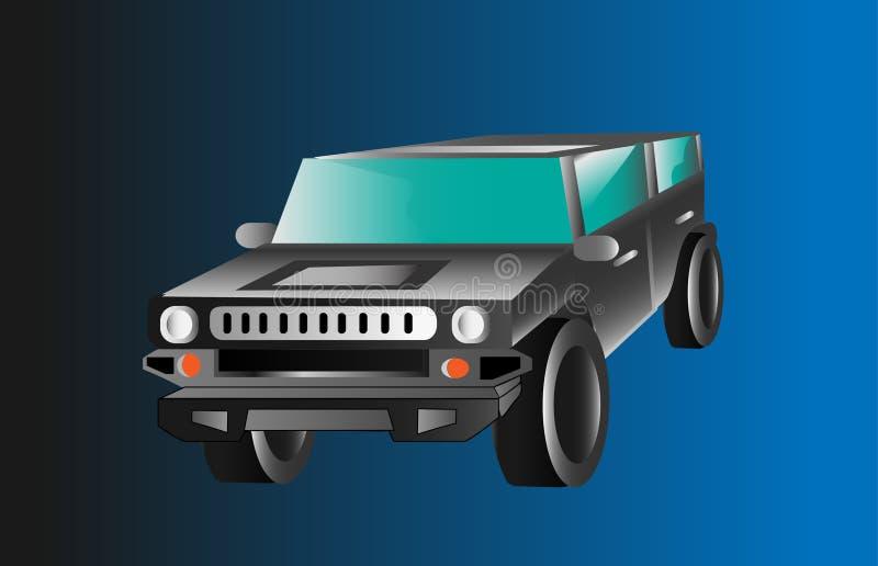 SUV 4X4 royalty-vrije stock afbeeldingen