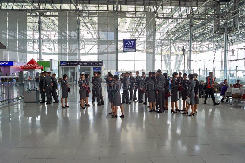 Suvarnabhumi Lotnisko zdjęcie royalty free