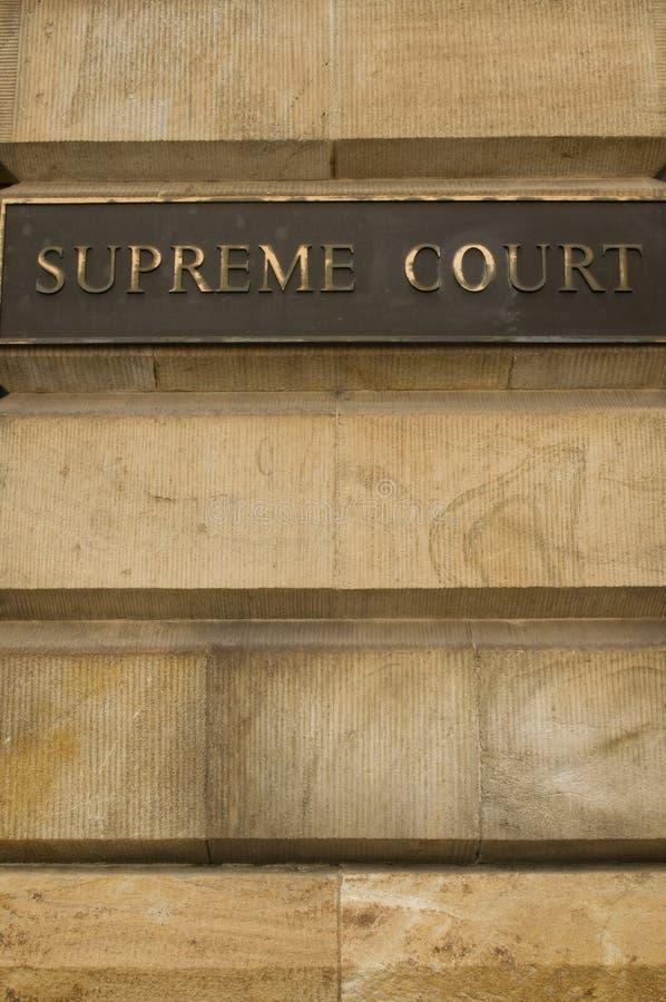 suverän domstol fotografering för bildbyråer