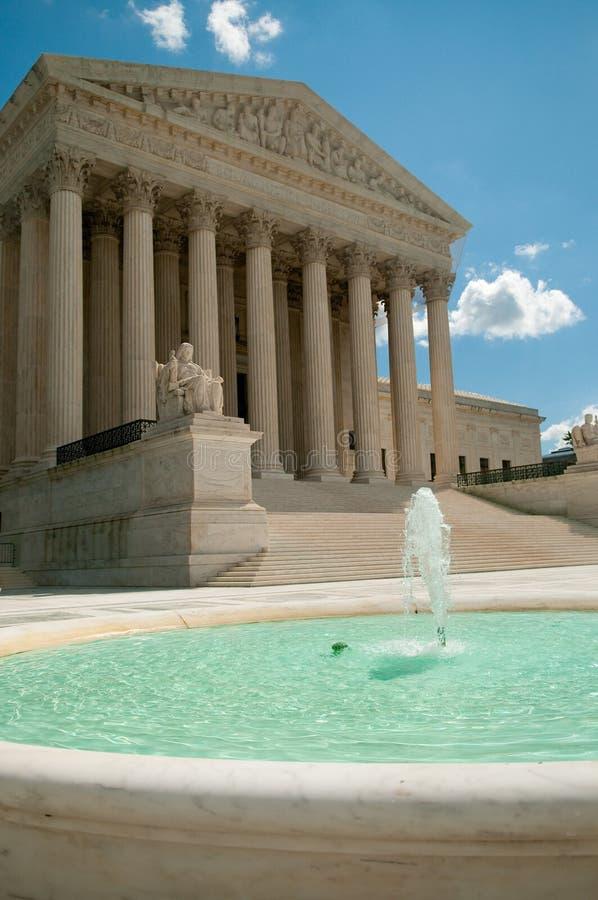 suverän domstol oss royaltyfri foto