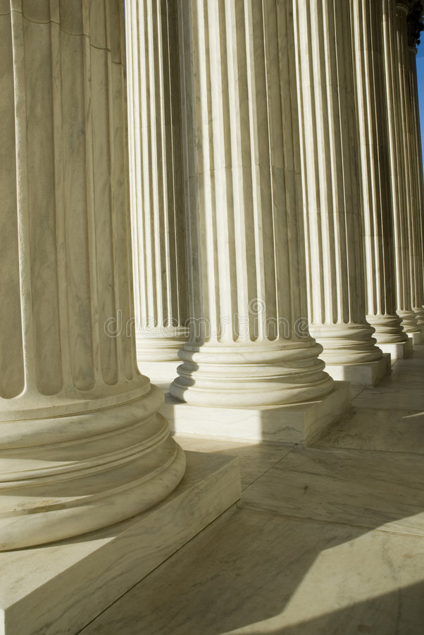 suverän domstoldc oss washington royaltyfri foto