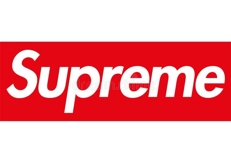 Suverän logo royaltyfri illustrationer