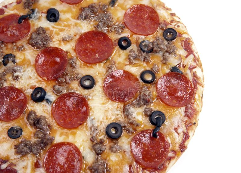 suverän pizza royaltyfri foto
