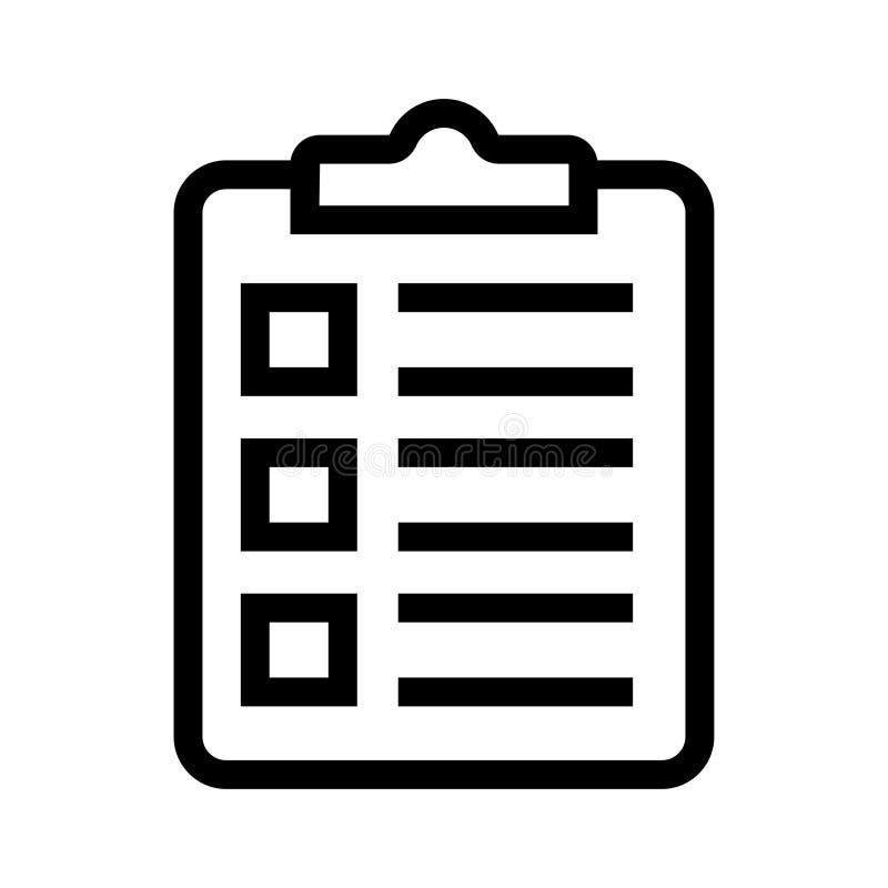 Suvey-Linie Ikone vektor abbildung