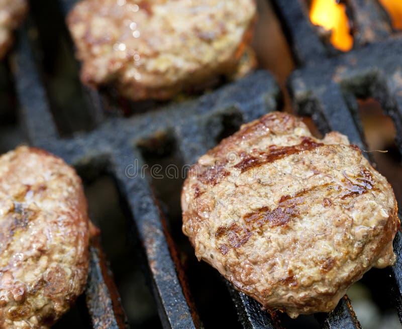 Suwaków Hamburgerów Grill obrazy royalty free