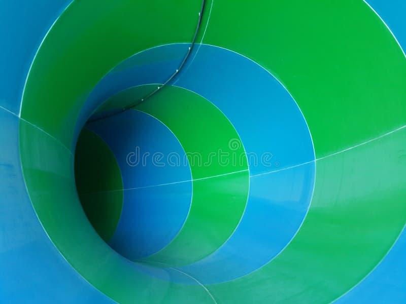 Suwak w waterpark zdjęcia stock
