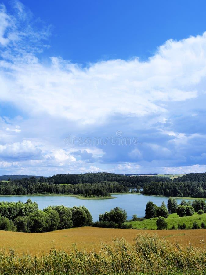 Suwalszczyzna, Polen stock foto