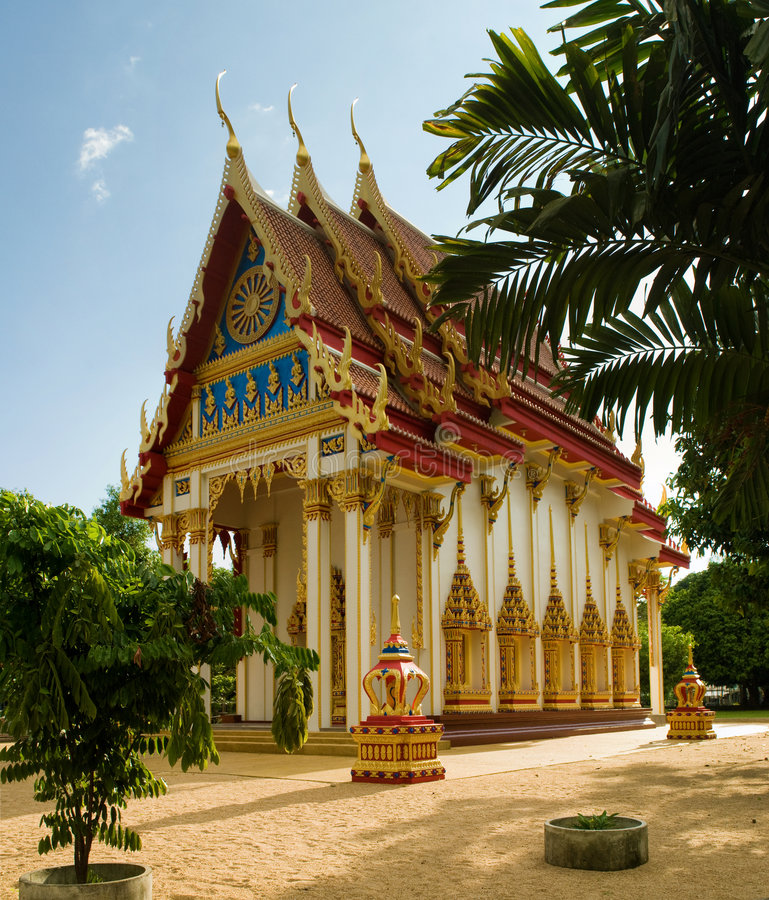 suwan ναός kuha wat στοκ φωτογραφίες με δικαίωμα ελεύθερης χρήσης