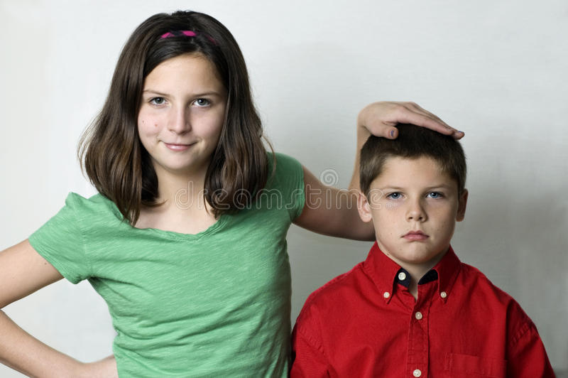 Sux Being The Youngest Royalty Free Stock Photo