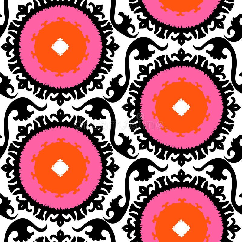 Free Suzani Pattern Stock Image - 34874871