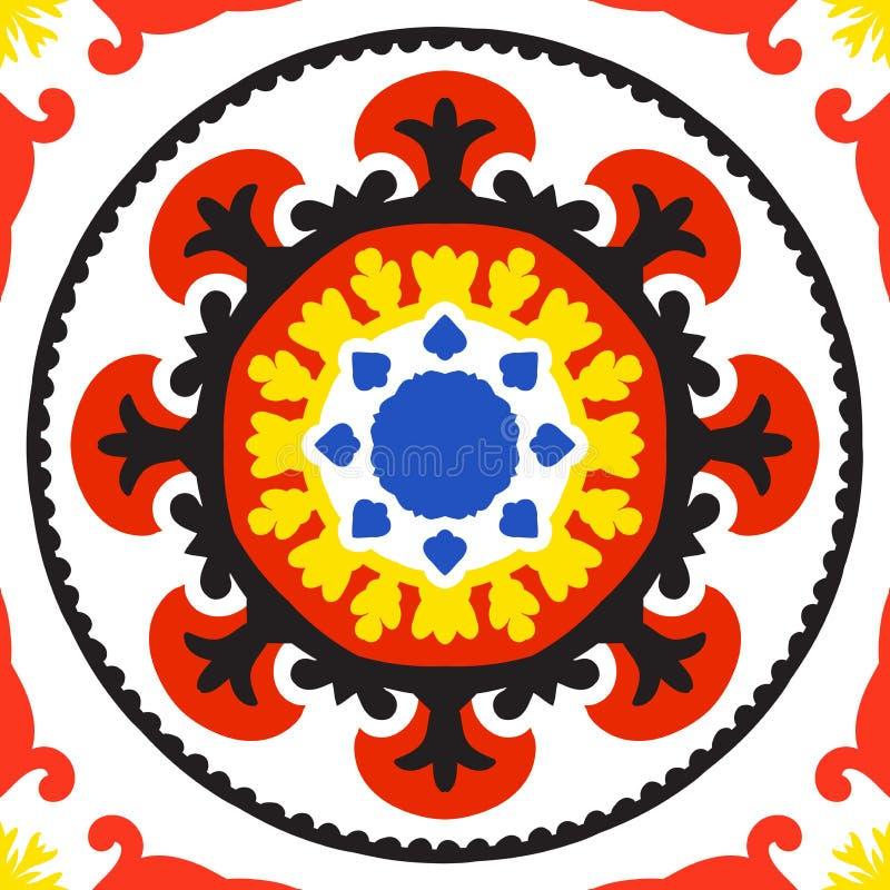 Suzanipatroon vector illustratie