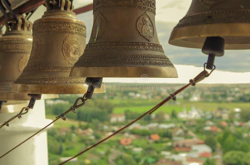 Suzdal, колокольня стоковое изображение