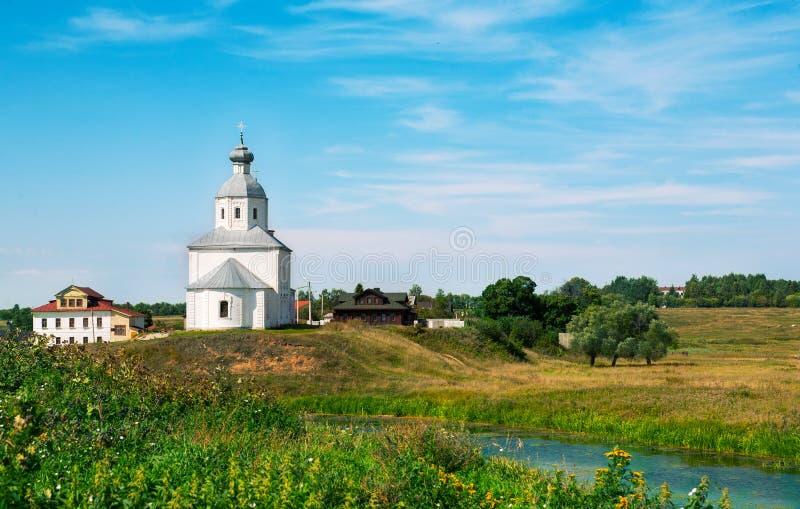 Suzdal in de zomer Rusland stock fotografie
