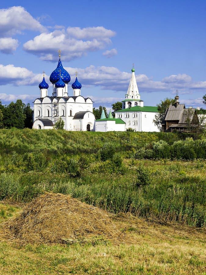 Suzdal (Gouden Ring van Rusland) royalty-vrije stock afbeelding