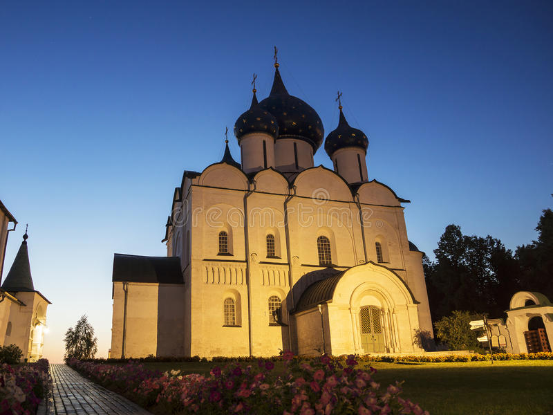 Suzdal het Kremlin (Gouden Ring van Rusland) stock foto's
