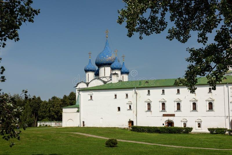 Suzdal het Kremlin Gouden Ring van Rusland stock fotografie