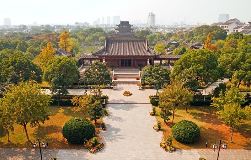 Suzhou bij de herfst royalty-vrije stock afbeeldingen