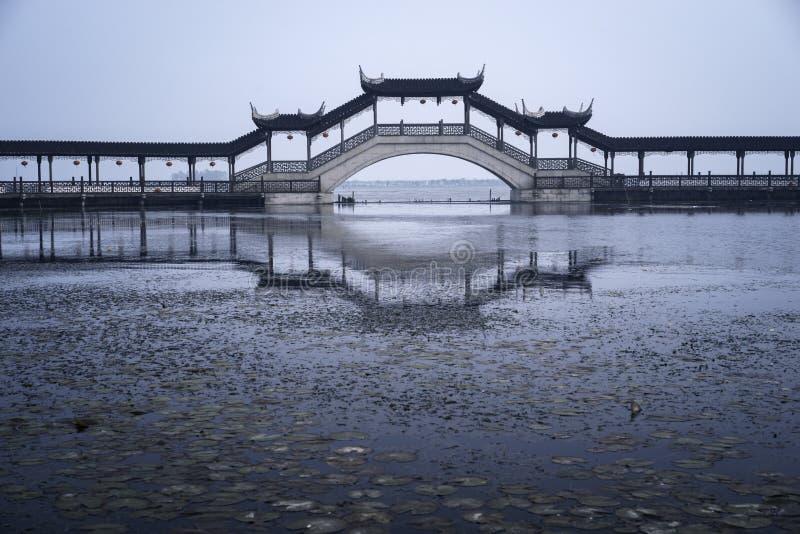 Suzhou bro royaltyfri fotografi