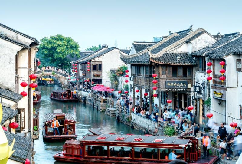 Shantang Old Street, Suzhou, China royalty free stock image