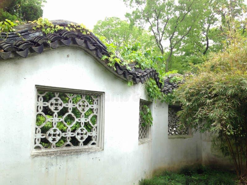 Suzhou, Cina, attrazioni turistiche famose, il giardino dell'amministratore umile immagine stock libera da diritti