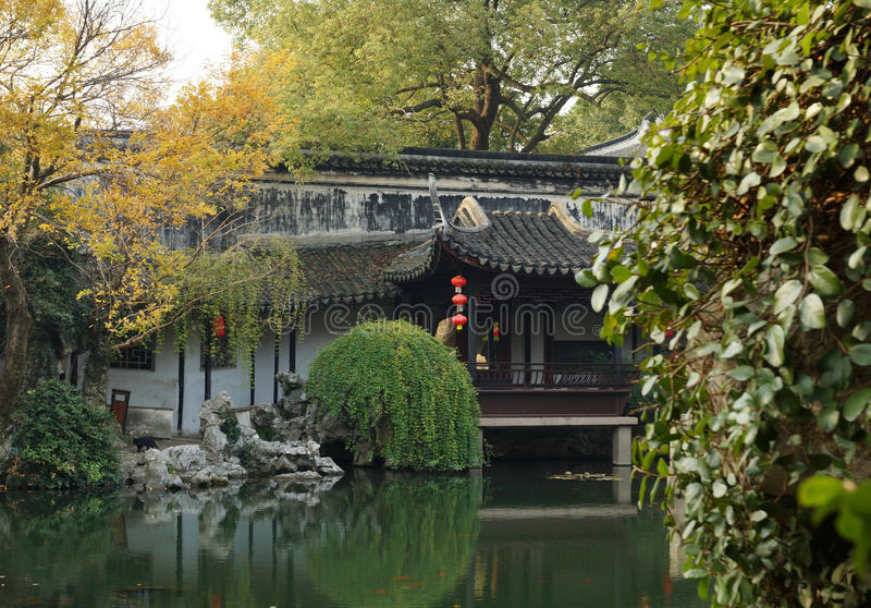 Download Gardens in Suzhou, China stock image. Image of area, artistic - 30135083