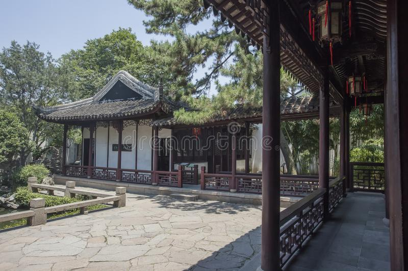 Suzhou Classical Architecture. Suzhou garden is the representative of Chinese classical private garden, private garden is the art of the highest achievements royalty free stock image