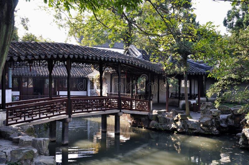Suzhou humble administrator's garden stock photo