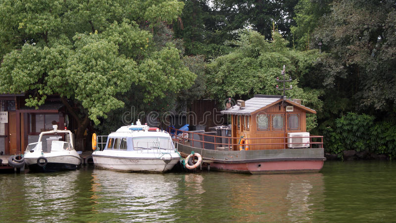 Suzhou jezioro fotografia royalty free
