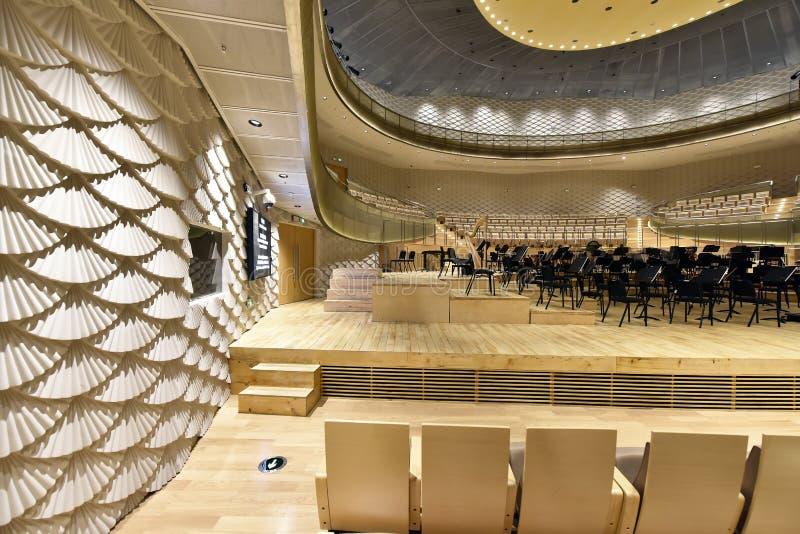 Suzhou jinji jeziorna filharmonia Chiny zdjęcie stock