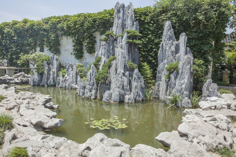 Suzhou Klasyczna architektura obraz royalty free