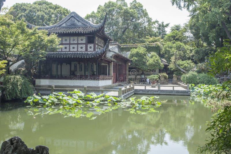 Suzhou Klasyczna architektura zdjęcie stock