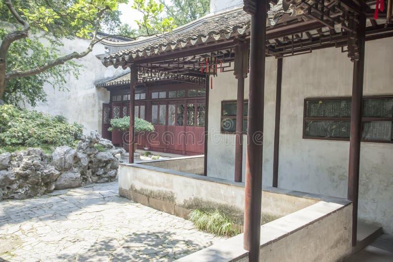 Suzhou Klasyczna architektura zdjęcie royalty free