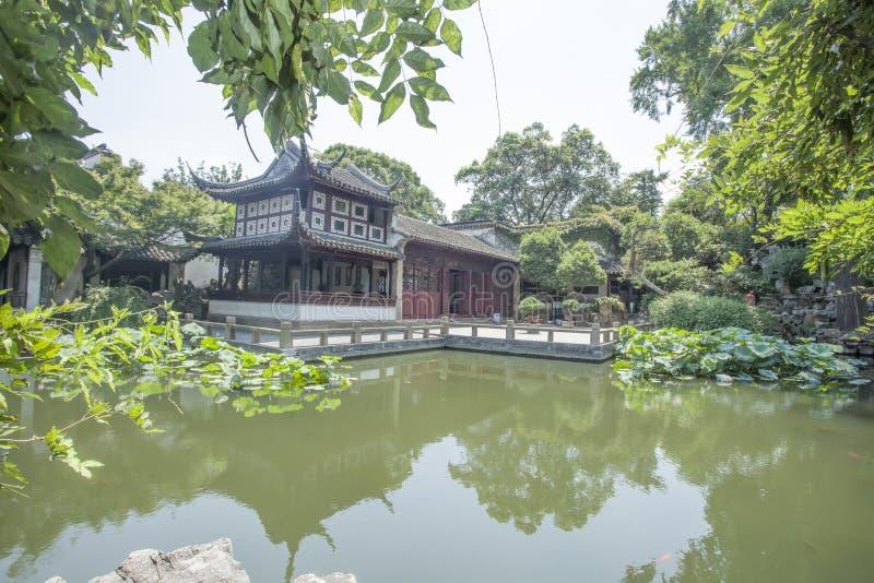 Suzhou Klasyczna architektura obrazy royalty free