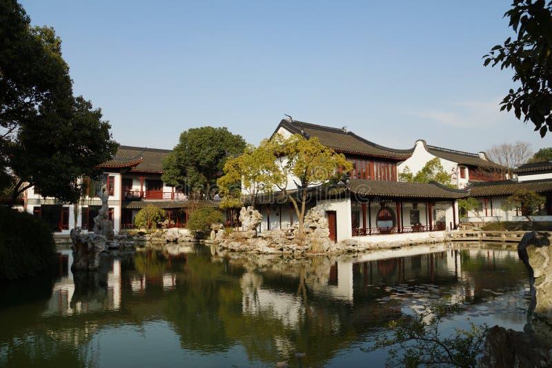 Suzhou gardenï ¼ Suzhou Gardensï tradycyjny ¼ obraz royalty free