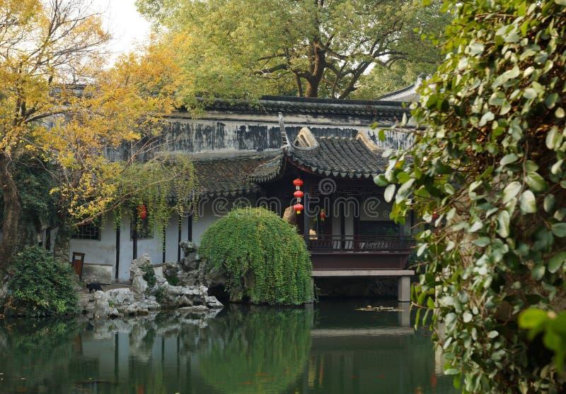 Ogródy w Suzhou, Chiny zdjęcia stock