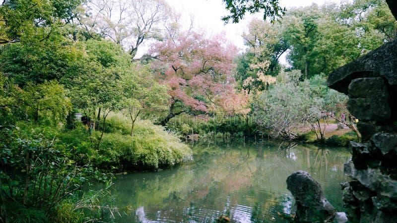 Suzhou ogródy zdjęcie royalty free